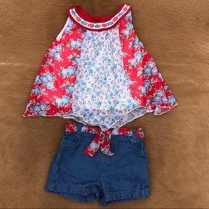 Little Lass Set Toddler Girl Size 3T